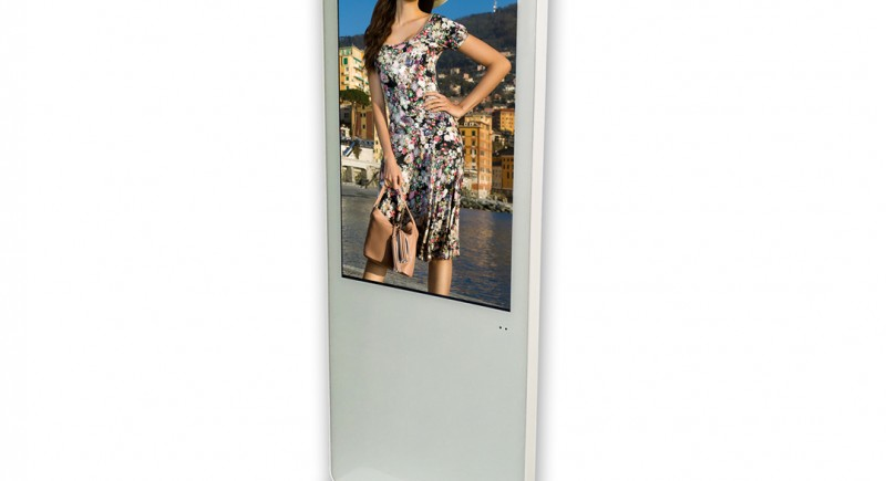 Дигитален тотем с вертикален екран 47