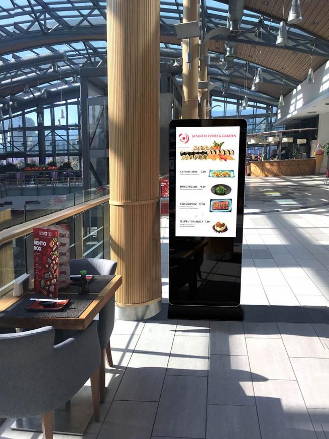 Digital Signage Тотем с LCD екран 47